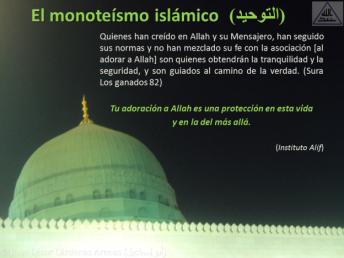 Breve interpretación (tafsir) del Corán El monoteísmo islámico