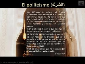 Breve interpretación (tafsir) del Corán El politeísmo (الشرك)